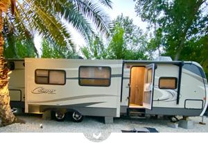 Optional Cougar Camper